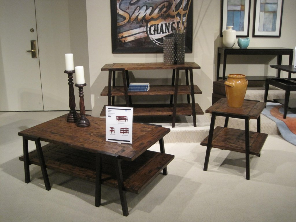 Shown with Rectangular Cocktail Table and Rectangular Sofa Table