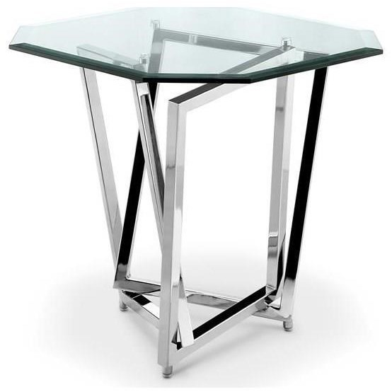 Magnussen Home Lenox SquareOctagonal End Table ...