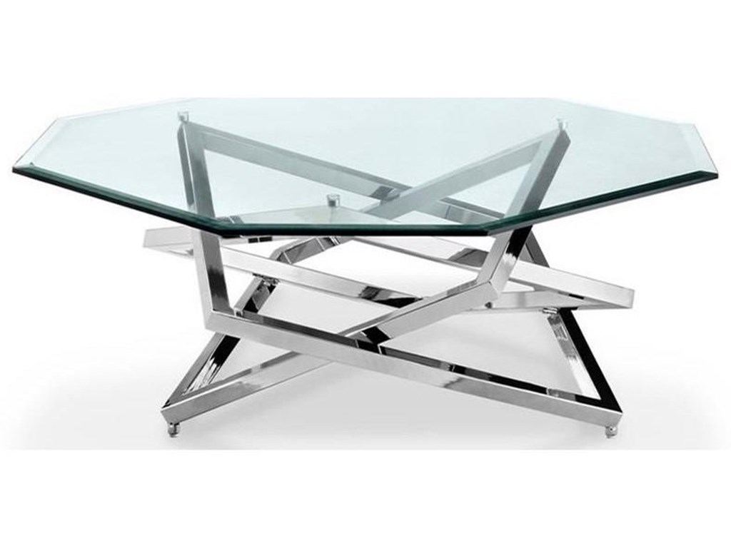 Magnussen Home Lenox SquareOctagonal Cocktail Table