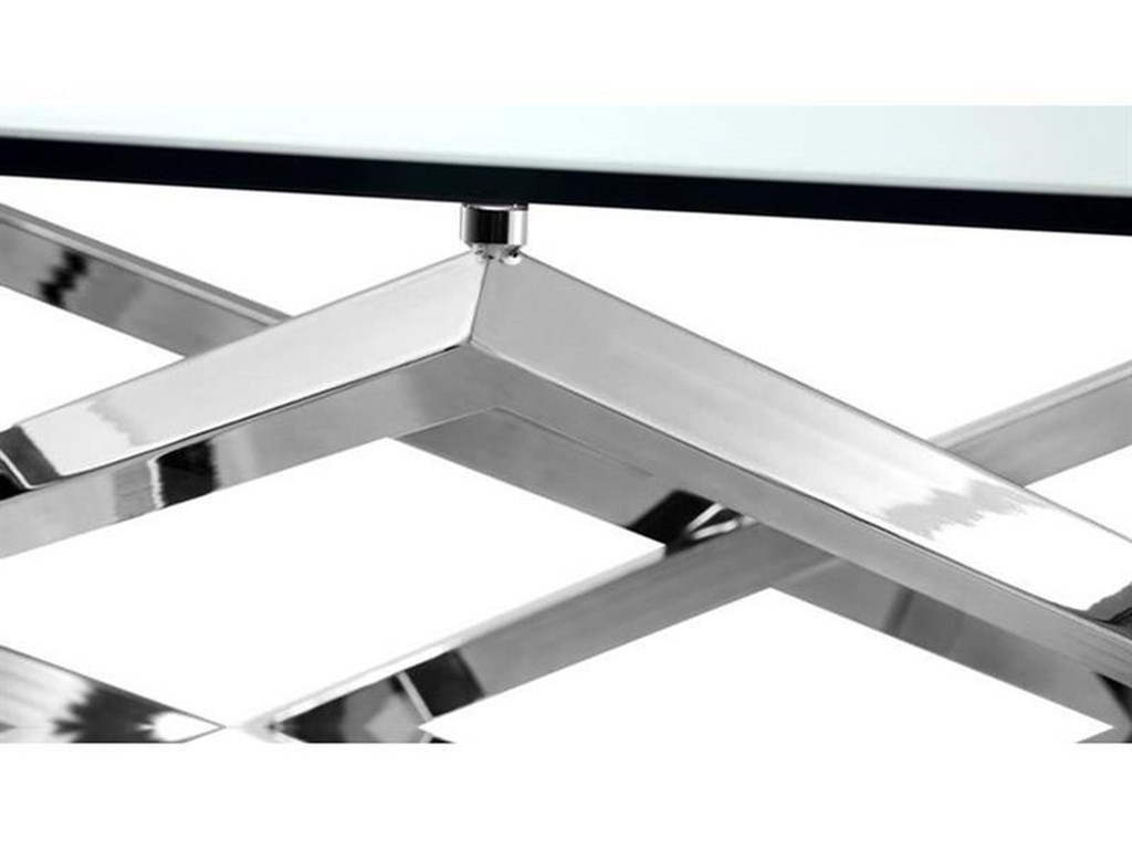 Magnussen Home Lenox SquareRectangular Sofa Table