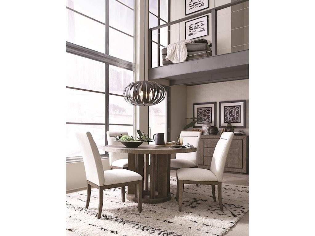 Magnussen Home Granada HillsRound Dining Table