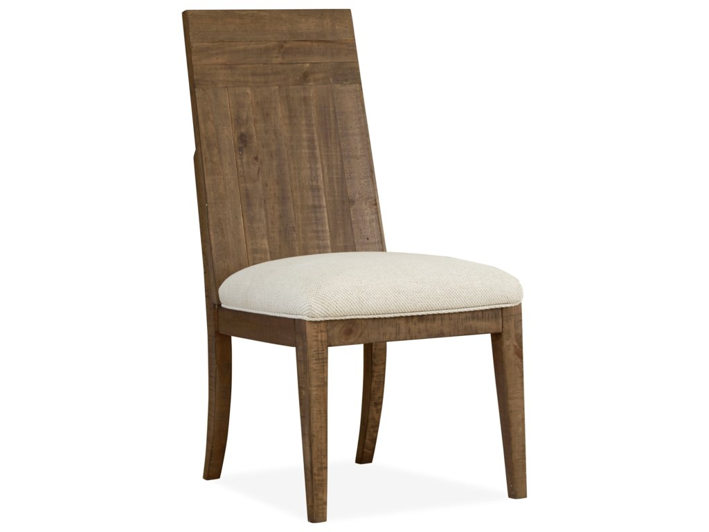 Magnussen Home Granada HillsDining Side Chair with Upholstered Seat