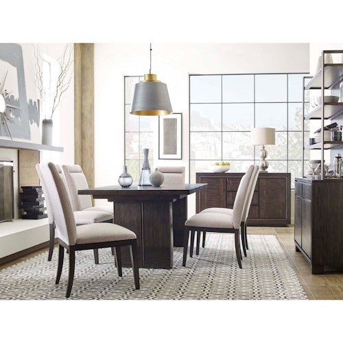 Magnussen Home MacArthur Terrace  Casual Dining Room Group