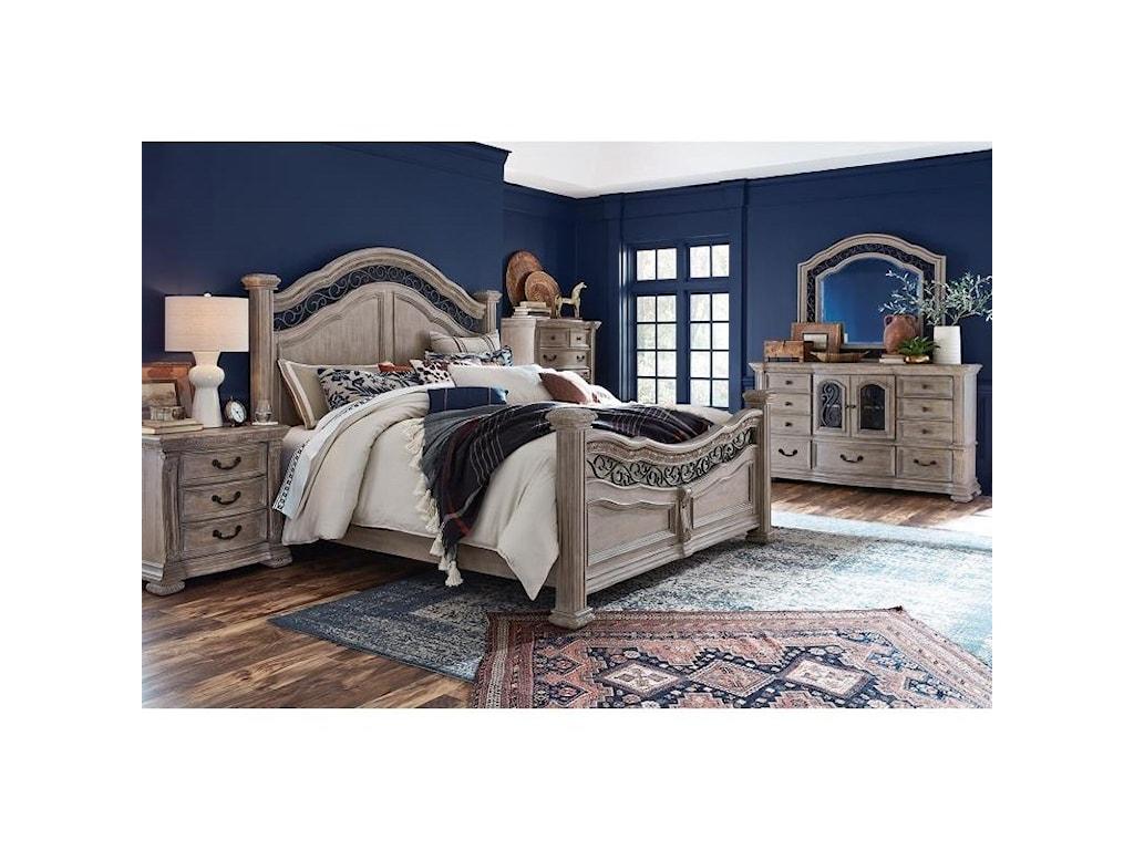 Magnussen Home MarisolQueen Panel Bed