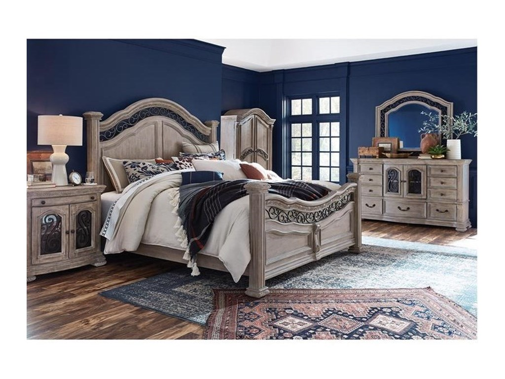 Magnussen Home MarisolCalifornia King Panel Bed