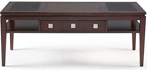 Magnussen Home Micah Rectangular Coffee Table w/ Drawer
