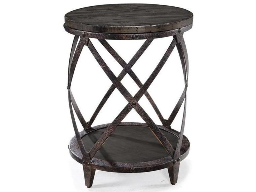 Magnussen Home MilfordRound Accent Table