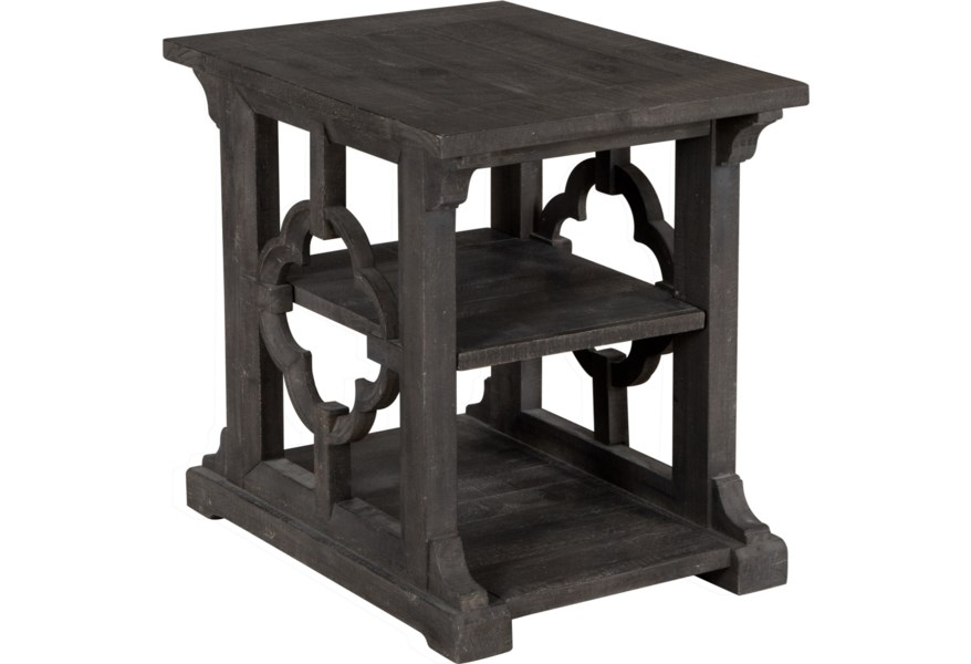 Magnussen Home Norwood Mh T4502 03 Relaxed Vintage Rectangular End Table Upper Room Home Furnishings End Tables