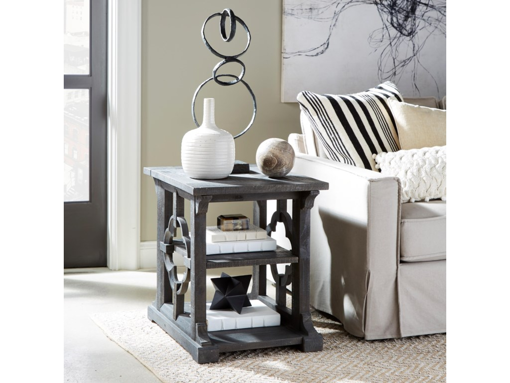 Magnussen Home Norwood MHEnd Table