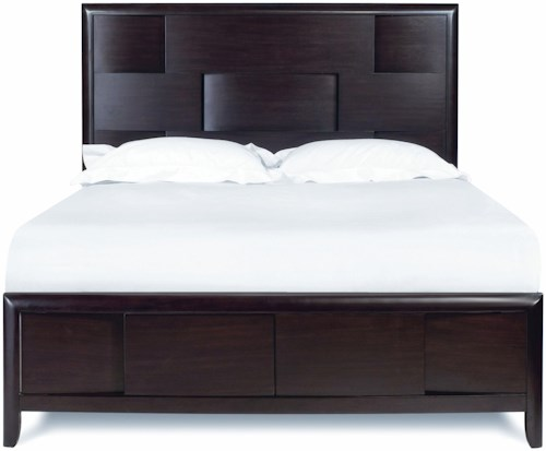 Magnussen Home Nova California King Platform Bed with Storage Footboard