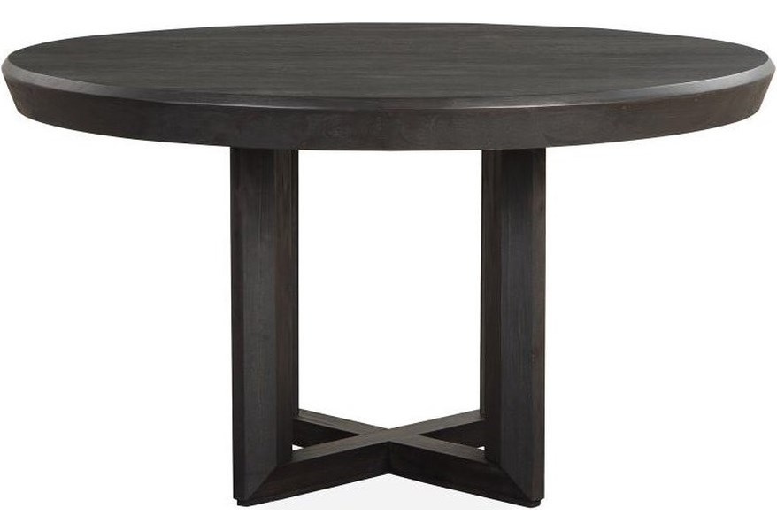 Magnussen Home Wentworth Villiage D4995 24 Contemporary 54 Inch Round Dining Table Upper Room Home Furnishings Kitchen Tables