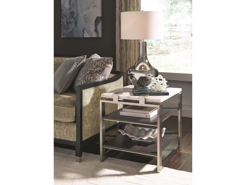 Magnussen Home ParadoxEnd Table