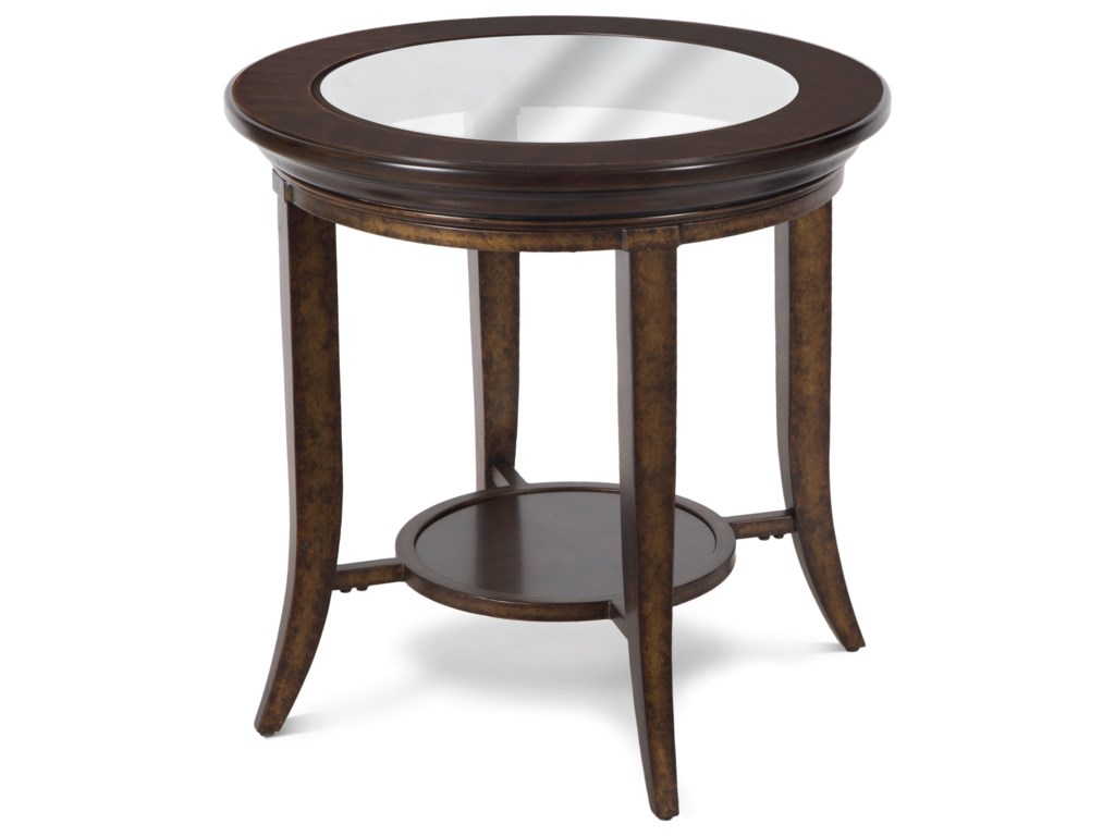 Magnussen Home ParsonsRound End Table