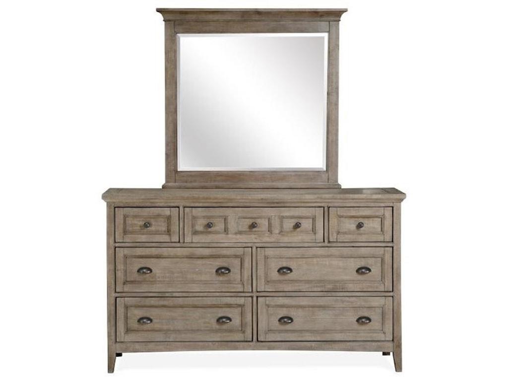 Magnussen Home Paxton PlaceLandscape Mirror