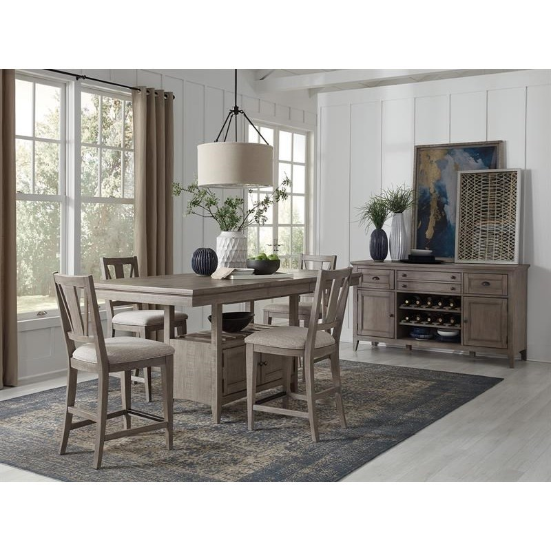 Casual Counter Height Dining Room Group