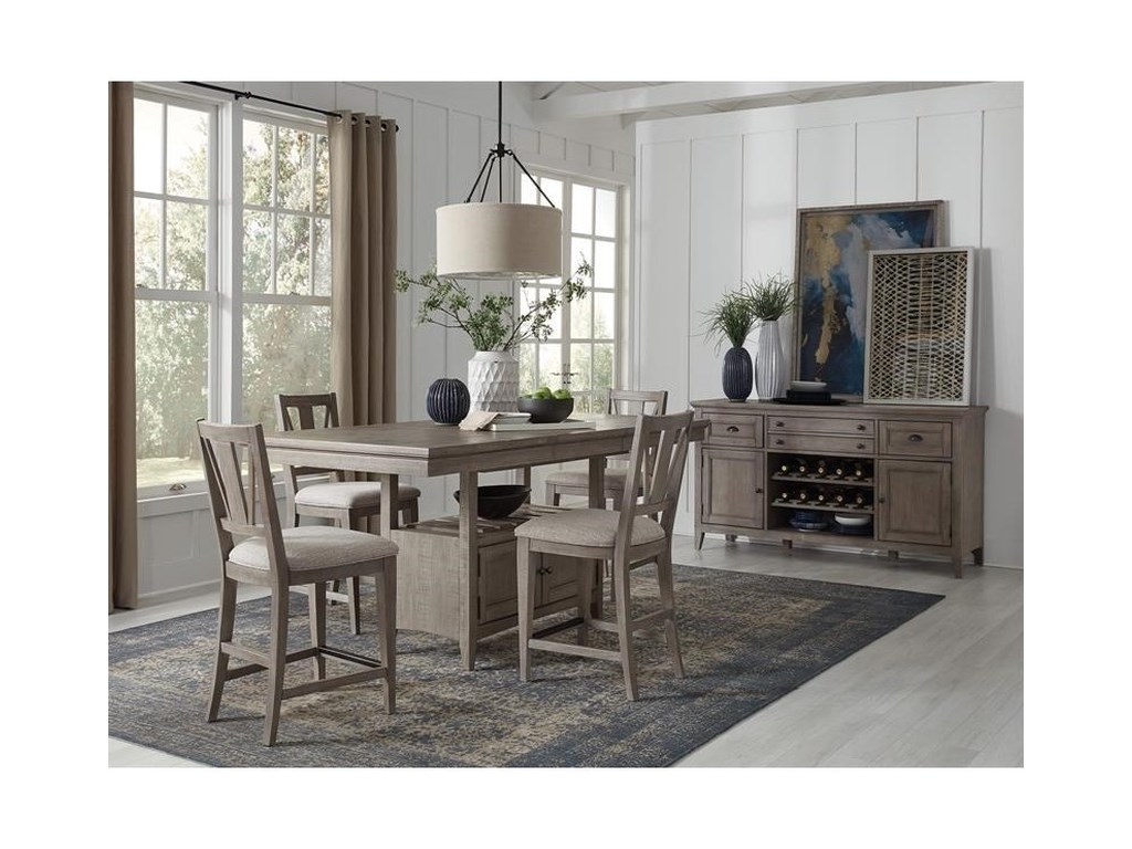 Magnussen Home Paxton Place5-Piece Counter Height Dining Set