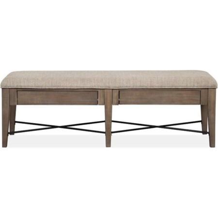 Bench w/ Upholstered Seat