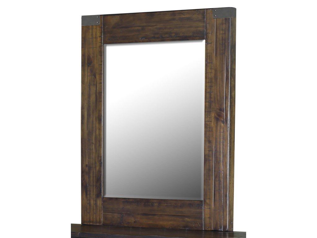 Belfort Select Pine HillPortrait Mirror