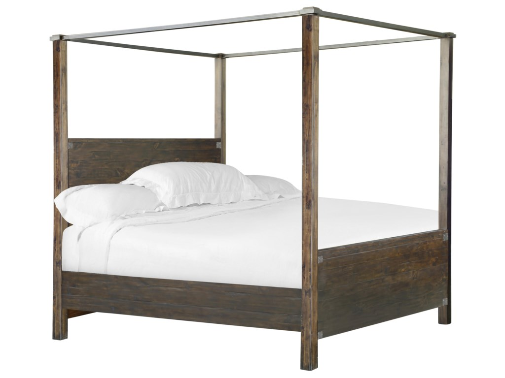 Magnussen Home Pine HillKing Poster Bed