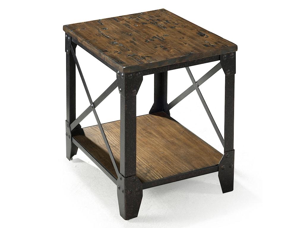 Magnussen Home PinebrookRectangular Smaller End Table