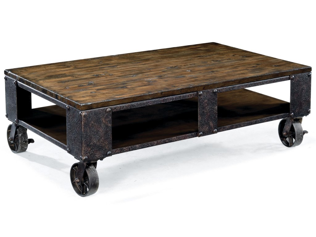 Magnussen Home PinebrookRectangular Cocktail Table