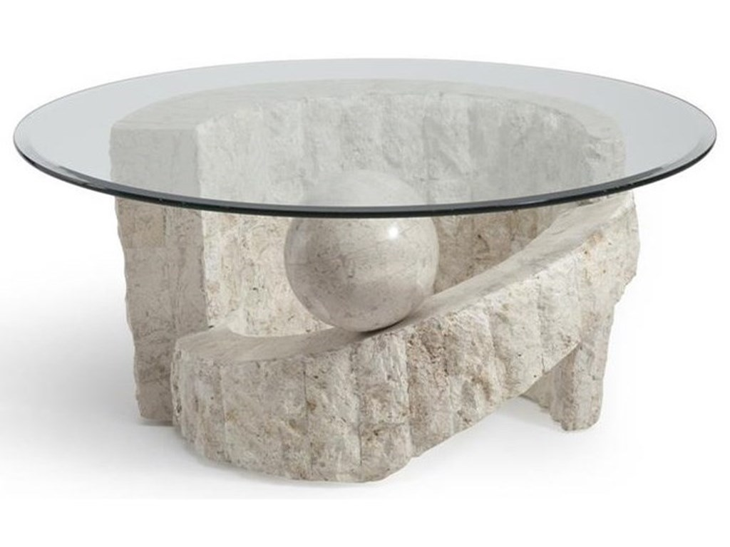 Magnussen Home Ponte VedraRound Cocktail Table