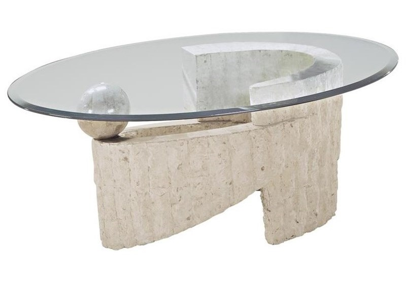 Magnussen Home Ponte VedraOval Cocktail Table