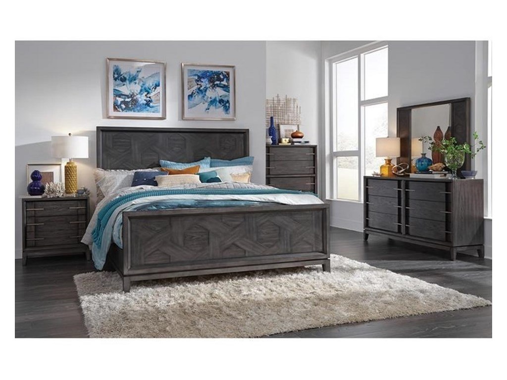 Magnussen Home Proximity Heights BedroomQueen Bedroom Group