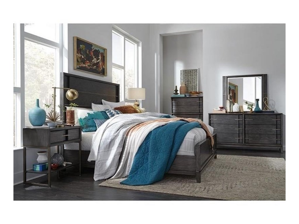 Magnussen Home Proximity Heights BedroomDouble Drawer Dresser
