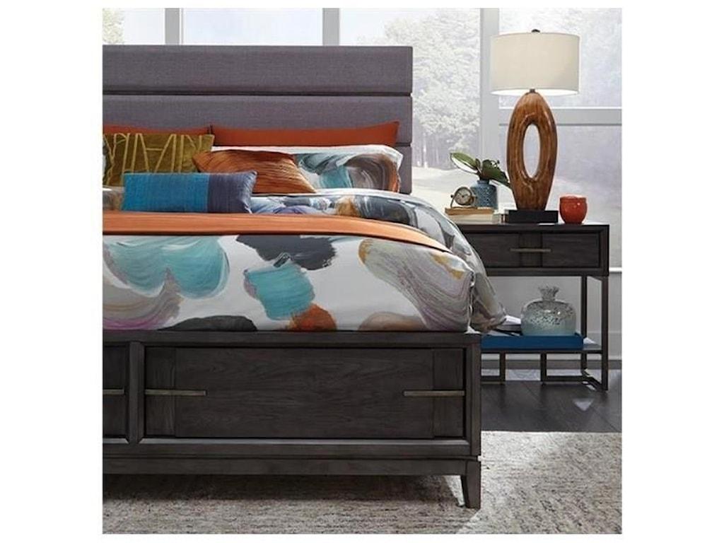 Magnussen Home Proximity Heights BedroomQueen Upholstered Bed