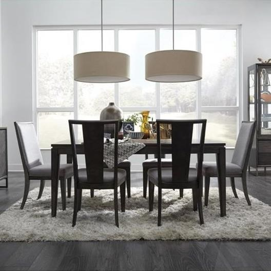 Magnussen Home Proximity Heights Dining Rectangular Table And Chair Set