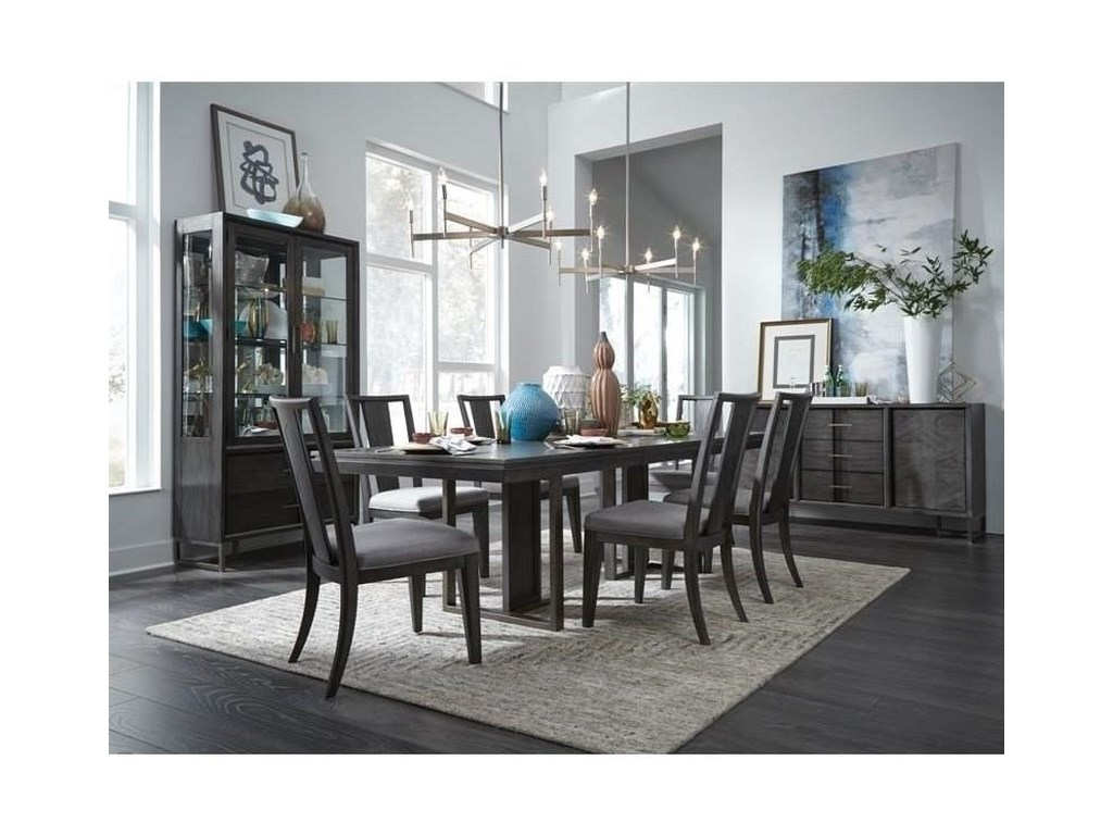 Magnussen Home Proximity HeightsDouble Pedestal Table