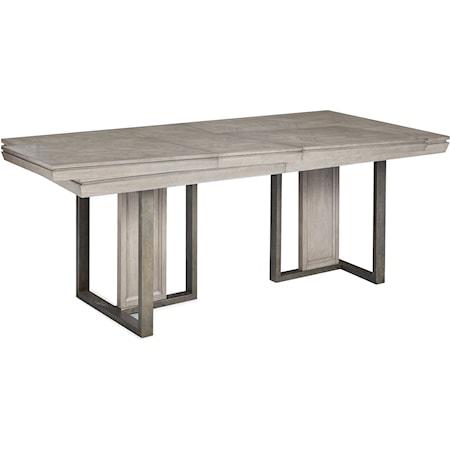 Double Pedestal Table