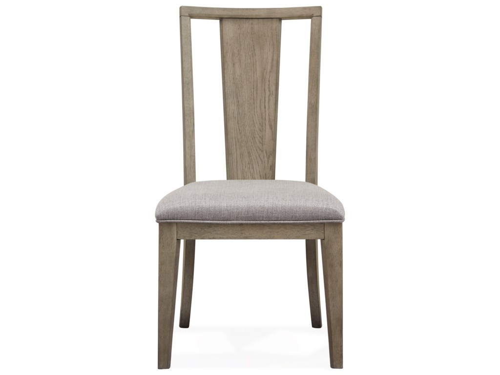 Magnussen Home Park HillDining Side Chair with Upholstered Seat