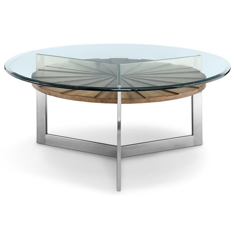 Magnussen Home Rialto T3805Round Cocktail Table