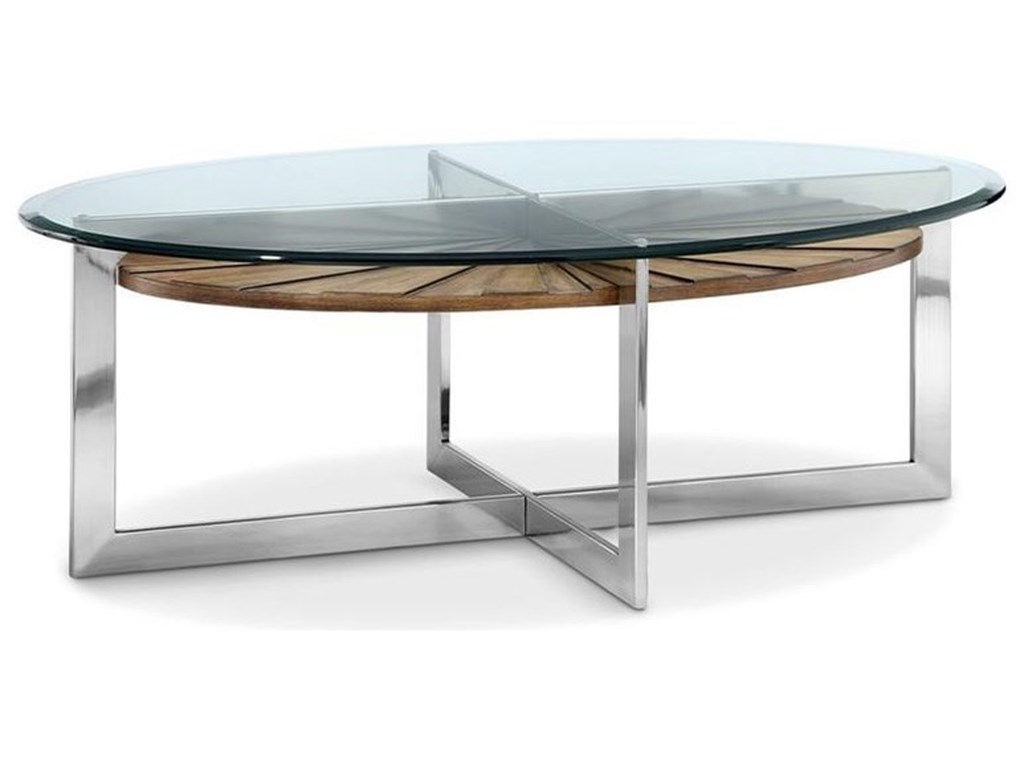 Magnussen Home RialtoOval Cocktail Table