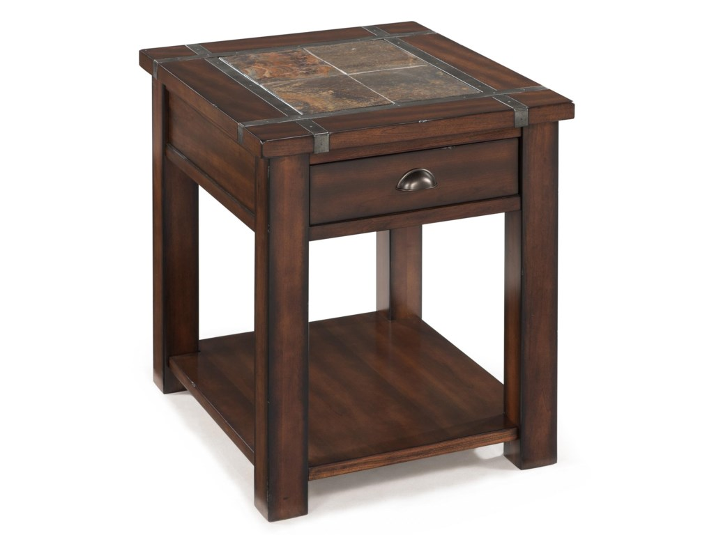 Magnussen Home RoanokeRectangular End Table