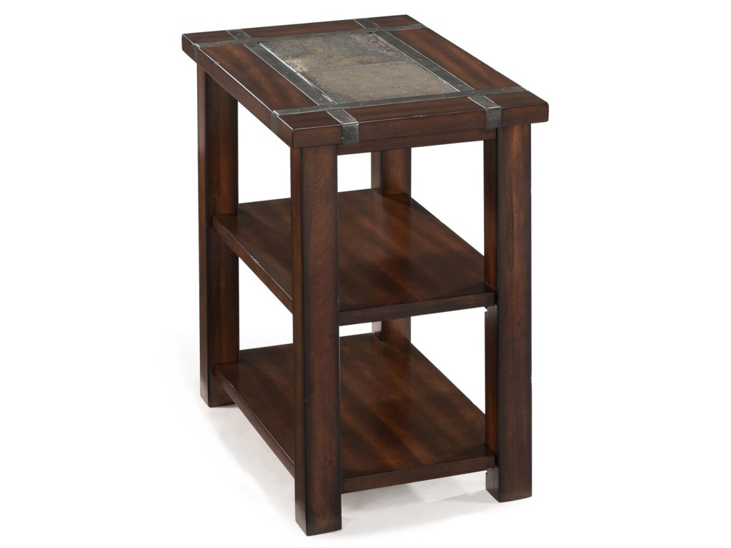 Magnussen Home RoanokeRectangular Chairside End Table