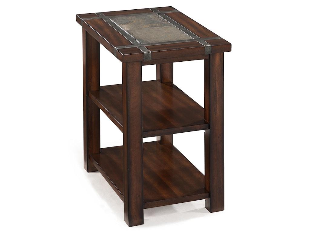 Magnussen Home RoanokeRectangular Chairside End Table