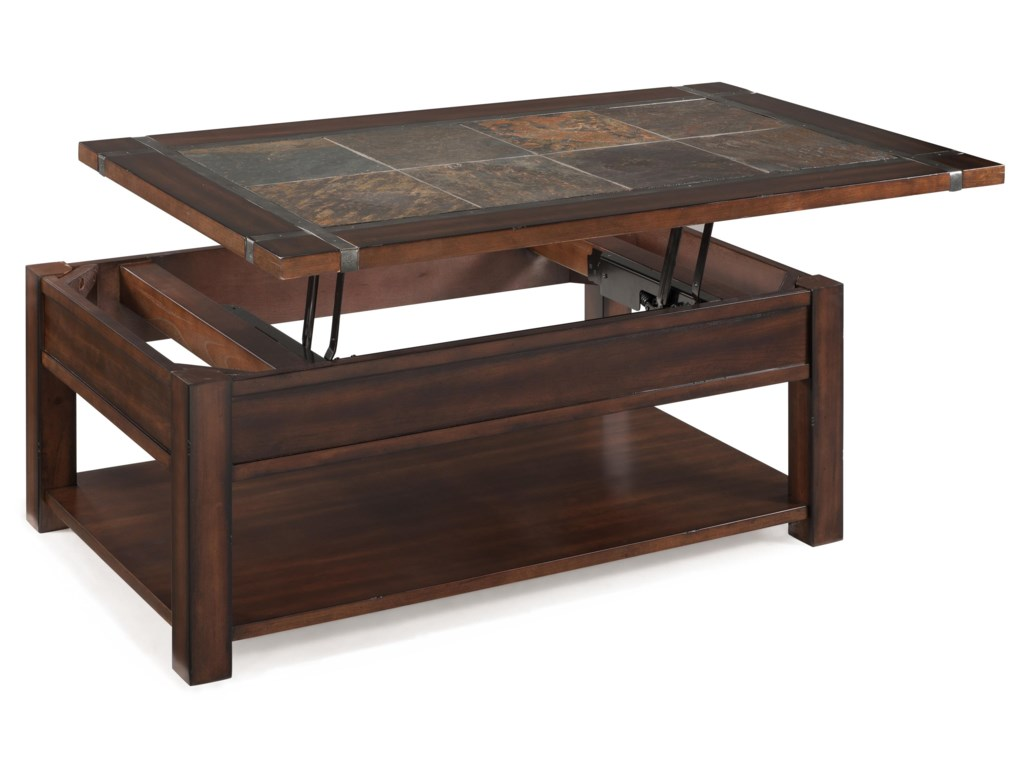 Magnussen Home RoanokeRectangular Lift Top Cocktail Table