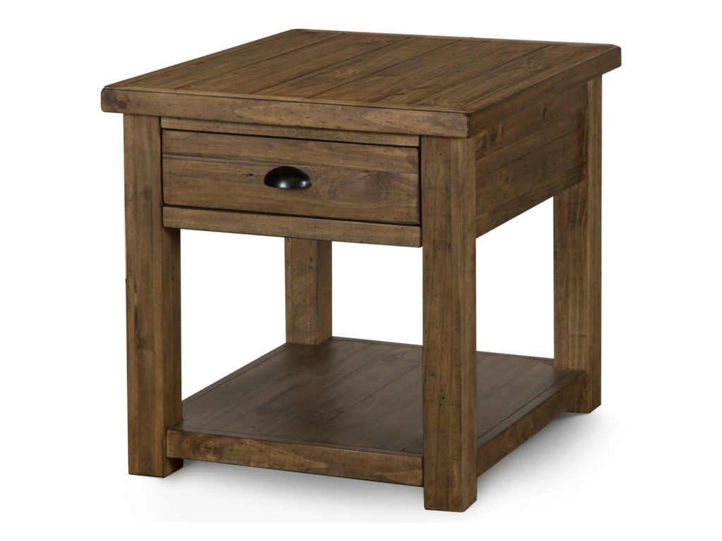 Magnussen Home StrattonRectangular End Table