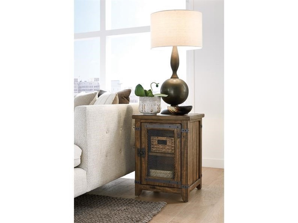 Magnussen Home T4717Chairside End Table