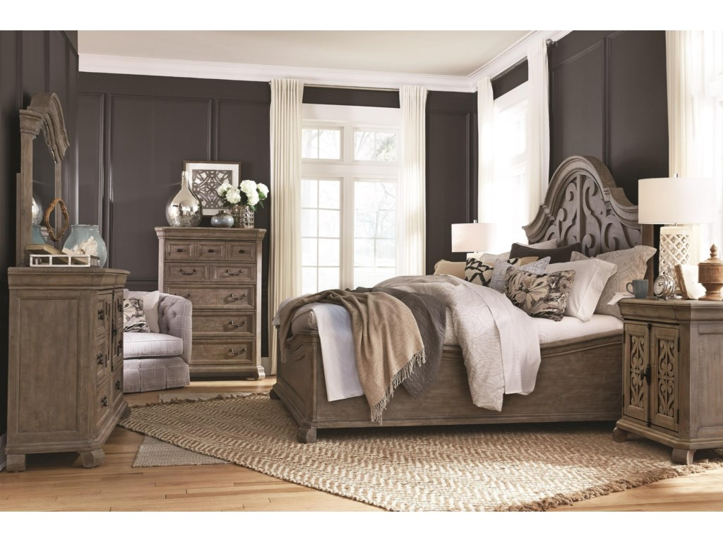 Magnussen Home Tinley ParkKing 5 Pc Group