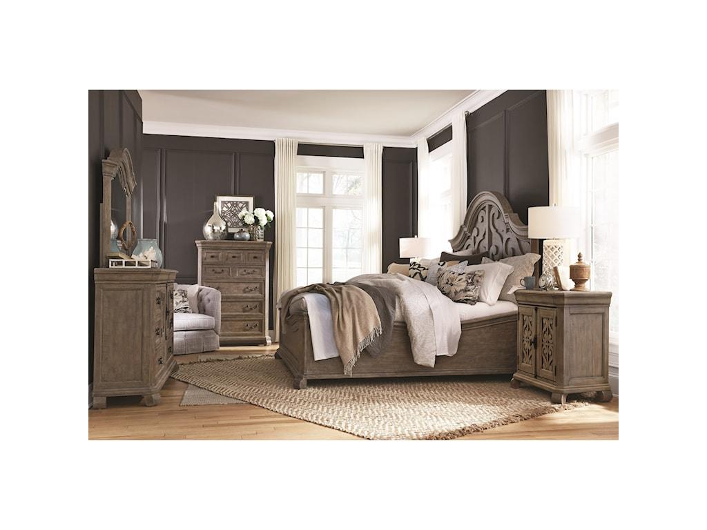 Magnussen Home Tinley ParkKing Bedroom Group