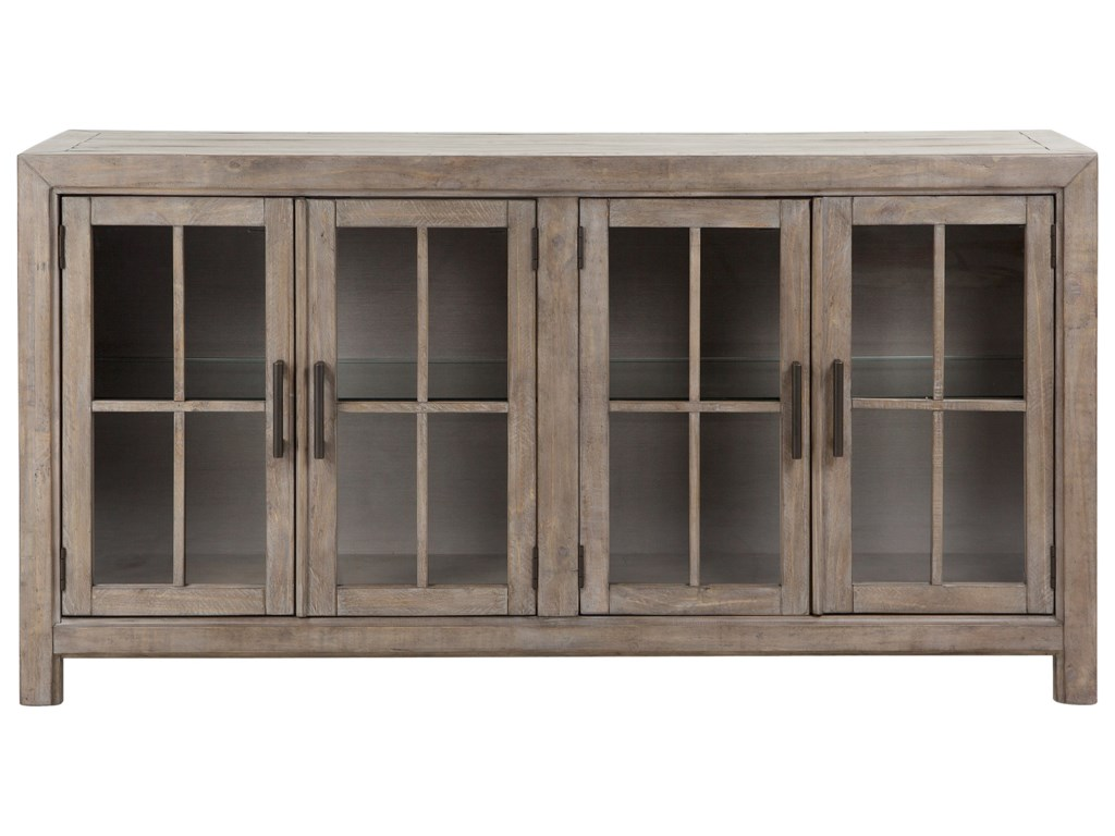 Magnussen Home Tinley ParkBuffet Curio Cabinet