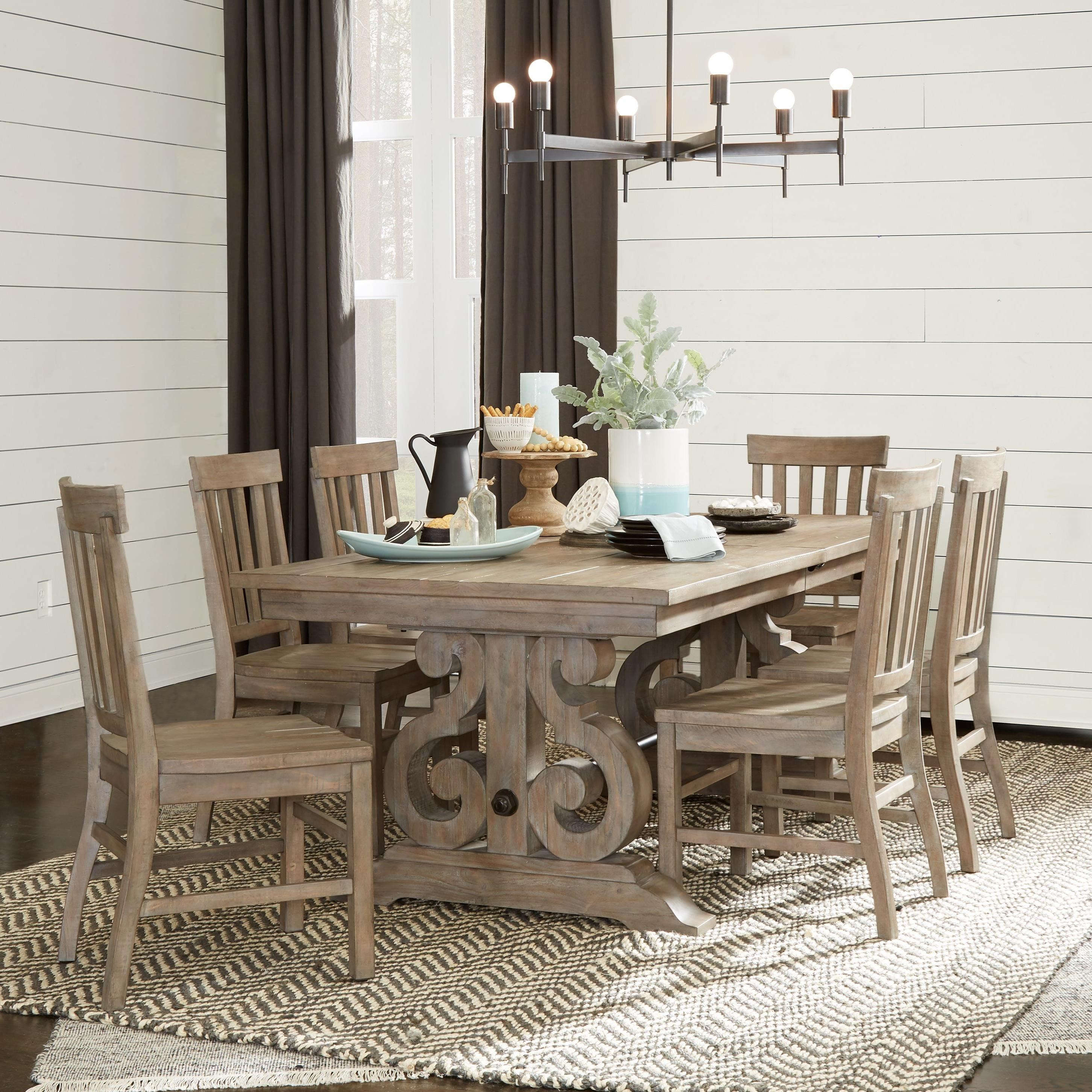Magnussen Home Tinley Park7 Piece Dining Table Set