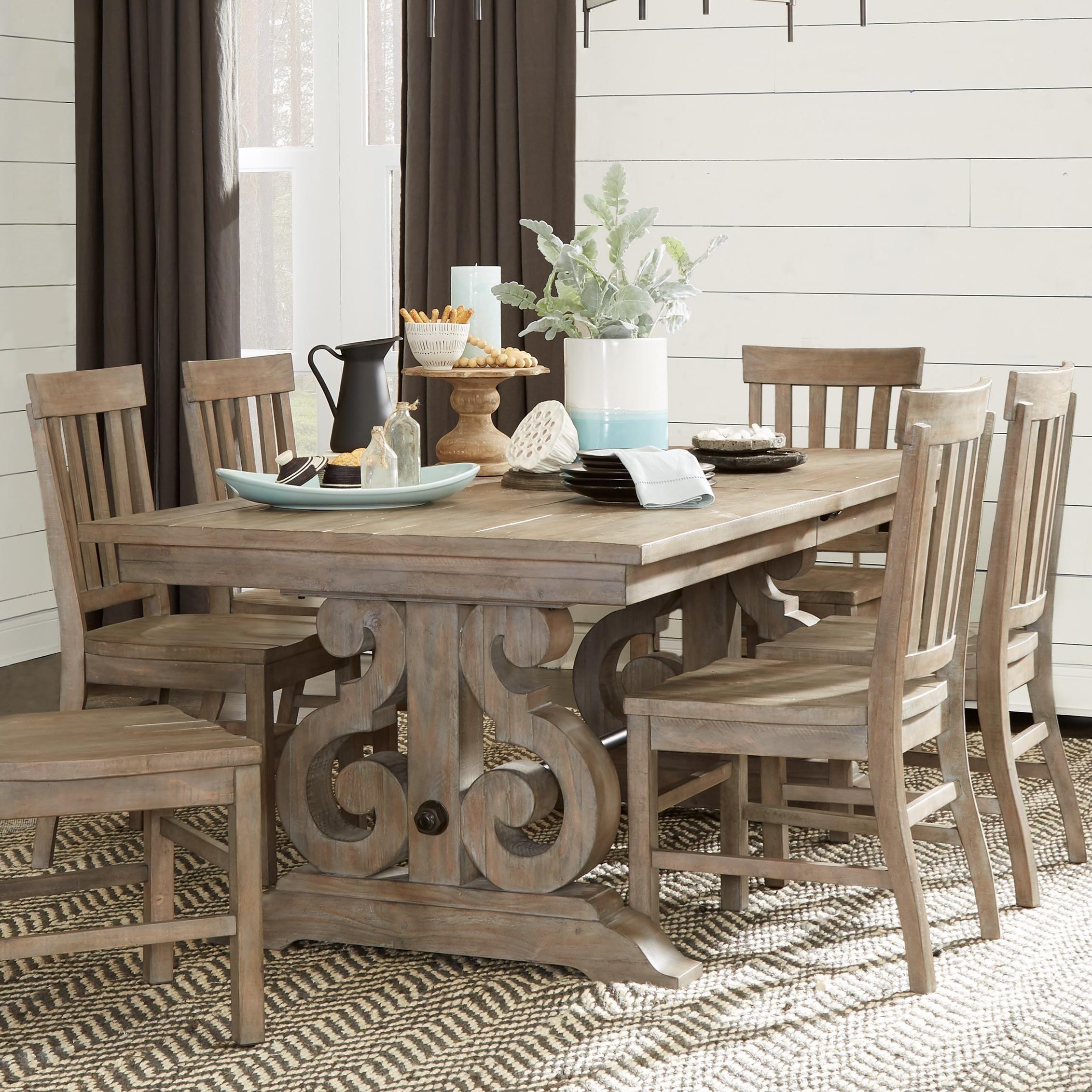 Magnussen Home Tinley ParkRectangular Dining Table ...