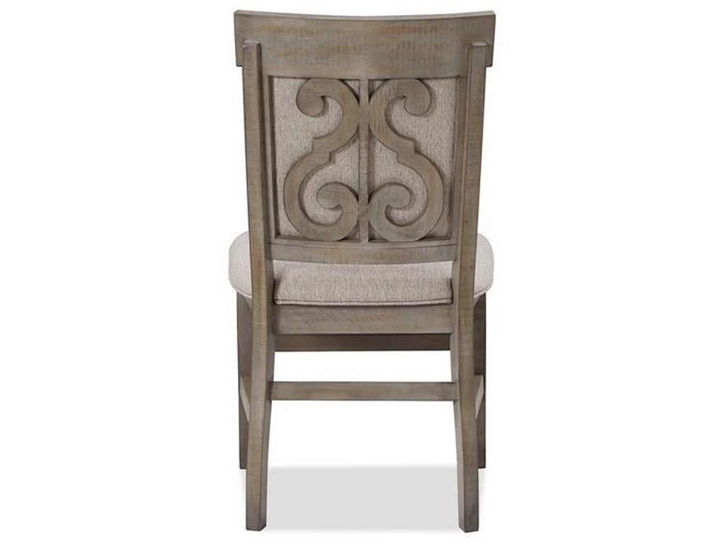 Magnussen Home Tinley ParkDining Side Chair w/Upholstered Seat & Back