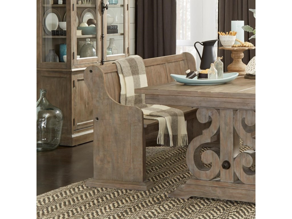 Magnussen home tinley parkdining bench