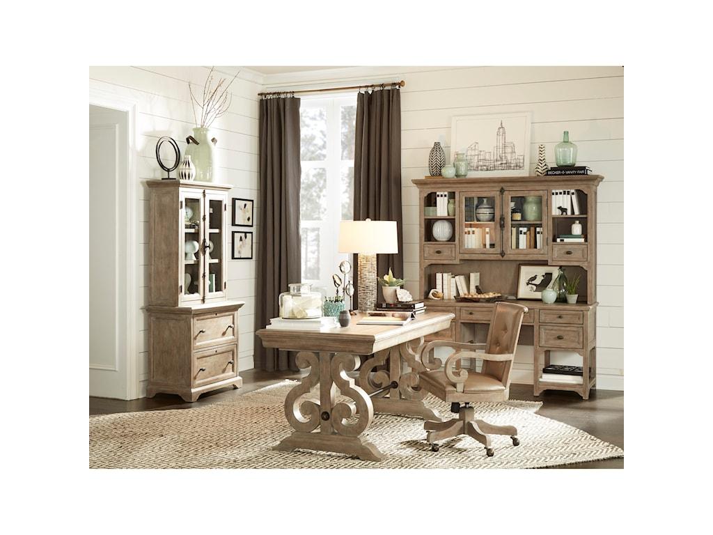 Magnussen Home Tinley ParkDouble Pedestal Desk